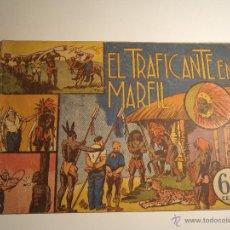 Tebeos: JORGE Y FERNANDO. EL TRAFICANTE DE MARFIL. HISPANO AMERICANA. ORIGINAL. . Lote 42683589