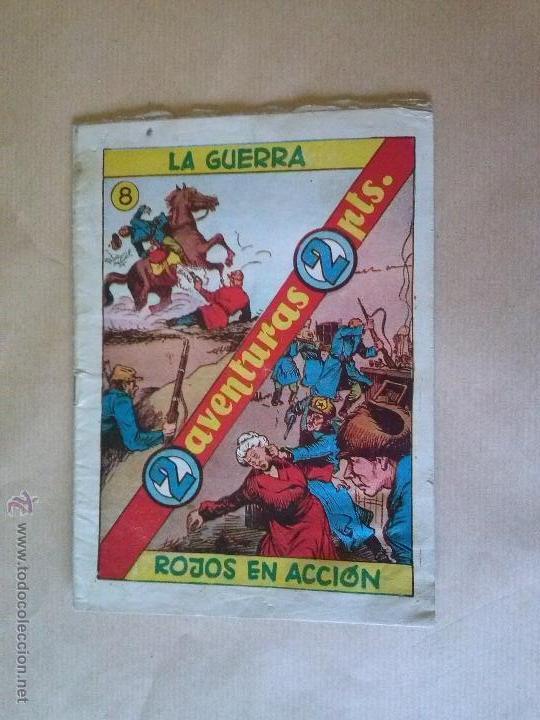 2 VENTURAS 2 PTAS Nº 8 HIS.P. AMERIC (Tebeos y Comics - Hispano Americana - Otros)