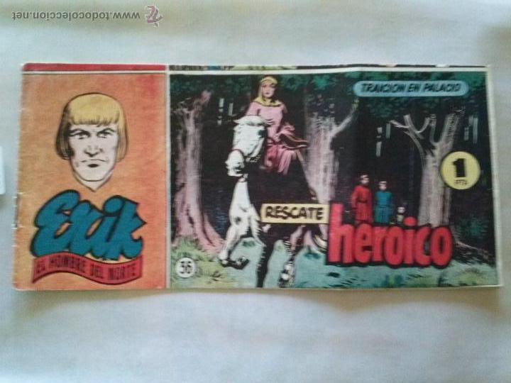 ERIK EL HOMBRE DEL NORTE Nº 36 - HISP. AMERIC- (Tebeos y Comics - Hispano Americana - Otros)