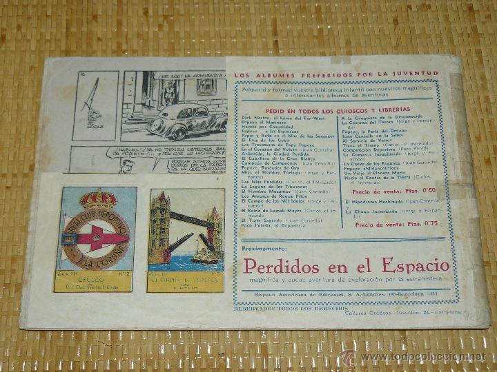 Tebeos: TEBEOS-COMICS CANDY - JUAN CENTELLA - FABRICA SUBTERRANEA - HISPANOAMERICANA 1940-DICK FULMINE *XX99 - Foto 3 - 43271014