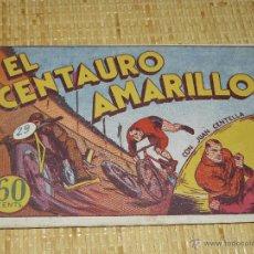 Tebeos: TEBEOS-COMICS CANDY - JUAN CENTELLA - CENTAURO AMARILLO - HISPANOAMERICANA 1940 - DICK FULMINE *AA99. Lote 43271024