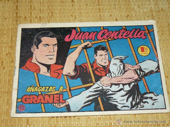 TEBEOS-COMICS CANDY - JUAN CENTELLA - Nº 8 - HISPANOAMERICANA - 1953 - DIFICIL - DICK FULMINE *AA99 (Tebeos y Comics - Hispano Americana - Juan Centella)
