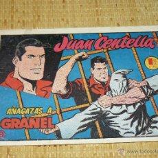 Tebeos: TEBEOS-COMICS CANDY - JUAN CENTELLA - Nº 8 - HISPANOAMERICANA - 1953 - DIFICIL - DICK FULMINE *AA99. Lote 43271083