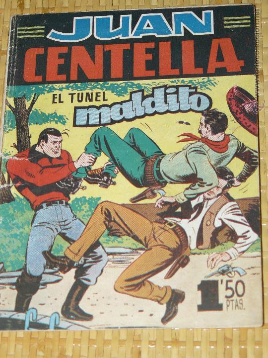 TEBEOS-COMICS CANDY - JUAN CENTELLA - Nº 2 - HISPANOAMERICANA - 1951 - DIFICIL - DICK FULMINE *BB99 (Tebeos y Comics - Hispano Americana - Juan Centella)