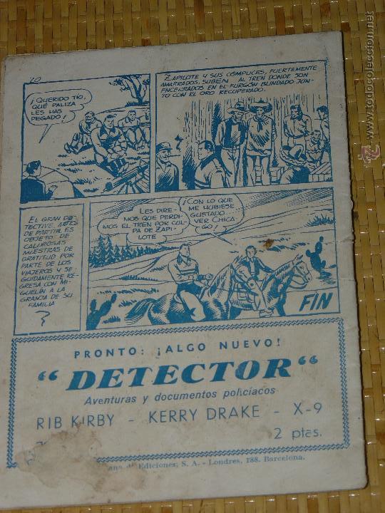 Tebeos: TEBEOS-COMICS CANDY - JUAN CENTELLA - Nº 2 - HISPANOAMERICANA - 1951 - DIFICIL - DICK FULMINE *BB99 - Foto 2 - 43271125