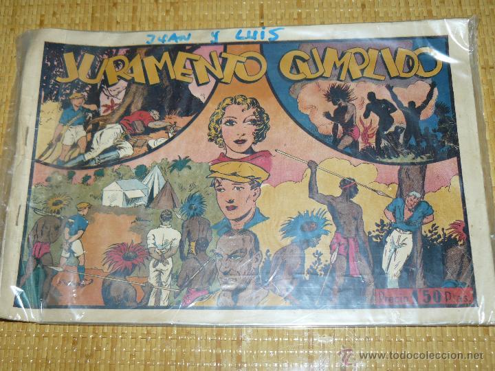 TEBEOS-COMICS CANDY - JUAN Y LUIS - Nº 2 - HISPANOAMERICANA - 1942 - TOPPI *XX99 (Tebeos y Comics - Hispano Americana - Otros)