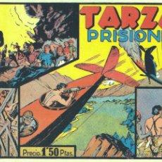 Tebeos: TARZÁN Nº7. REEDICIÓN FACSÍMIL DE TARZÁN PRISIONERO. HISPANO AMERICANA. Lote 43336225