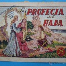 Tebeos: INFANTIL GRANDES AVENTURAS IGA , N.3 , LA PROFECIA DEL HADA , MONOGRAFICOS HISPANO AMERICANA 1945. Lote 43428095