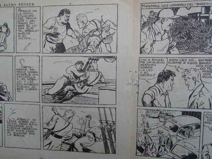 Tebeos: guardia movil . numero 10 , una buena redada , hispano americana 1946 - Foto 3 - 43521057