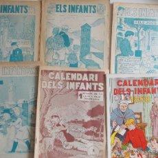 Tebeos: LOTE ELS INFANTS-6 EJEMPLARES-HISPANO AMERICANA-AÑOS 50--MUY BUEN ESTADO-CON DOS EXTRAS 57 Y 58. Lote 43543087