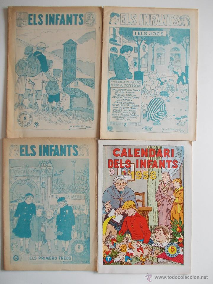 Tebeos: LOTE ELS INFANTS-6 EJEMPLARES-HISPANO AMERICANA-AÑOS 50--MUY BUEN ESTADO-CON DOS EXTRAS 57 Y 58 - Foto 2 - 43543087