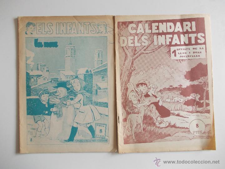 Tebeos: LOTE ELS INFANTS-6 EJEMPLARES-HISPANO AMERICANA-AÑOS 50--MUY BUEN ESTADO-CON DOS EXTRAS 57 Y 58 - Foto 3 - 43543087