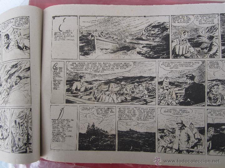 Tebeos: carlos el intrepido , n. 19 , perdidos en el atlantico , hispano americana 1942 bañon , real madrid - Foto 3 - 43582197