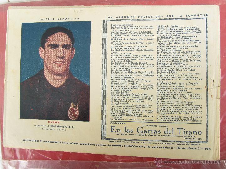 Tebeos: carlos el intrepido , n. 19 , perdidos en el atlantico , hispano americana 1942 bañon , real madrid - Foto 4 - 43582197