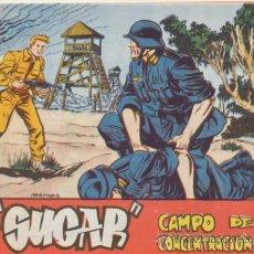Livros de Banda Desenhada: SUGAR AGENTE SECRETO. Nº 27. HISPANO AMERICANA 1963. ¡IMPECABLE!. Lote 43634034