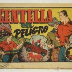 Tebeos: ANTIGUO CÓMIC JUAN CENTELLA EN PELIGRO - Nº 91 - ED. HISPANO-AMERICANA - 1940. Lote 43804518