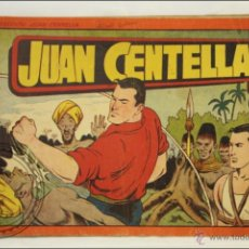 Tebeos: ANTIGUO CÓMIC JUAN CENTELLA - Nº 12 - ED. HISPANO-AMERICANA - 1944. Lote 43804543