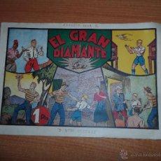 Tebeos: JORGE Y FERNANDO Nº 37 EL GRAN DIAMANTE EDITORIAL HISPANO AMERICANA . Lote 44185410
