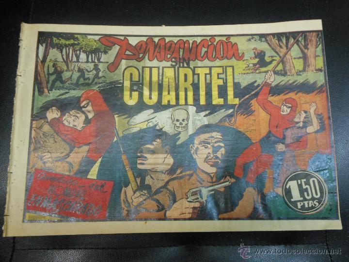 AVENTURA DEL HOMBRE ENMASCARADO - PERSECUCION SIN CUARTEL 1941 TEBEO (Tebeos y Comics - Hispano Americana - Hombre Enmascarado)