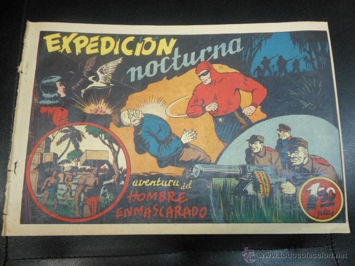 AVENTURA DEL HOMBRE ENMASCARADO - EXPEDICION NOCTURNA 1941 TEBEO (Tebeos y Comics - Hispano Americana - Hombre Enmascarado)