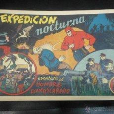 Tebeos: AVENTURA DEL HOMBRE ENMASCARADO - EXPEDICION NOCTURNA 1941 TEBEO. Lote 44241943