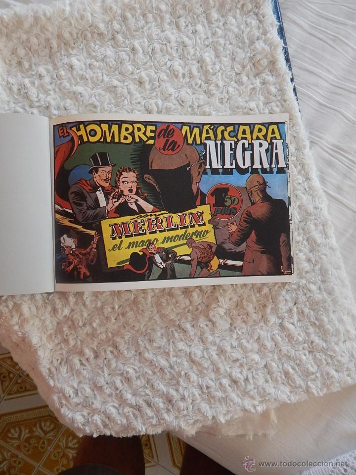 Tebeos: MERLIN EL MAGO MODERNO - FACSIMIL - 2 TOMOS - Foto 2 - 44256111