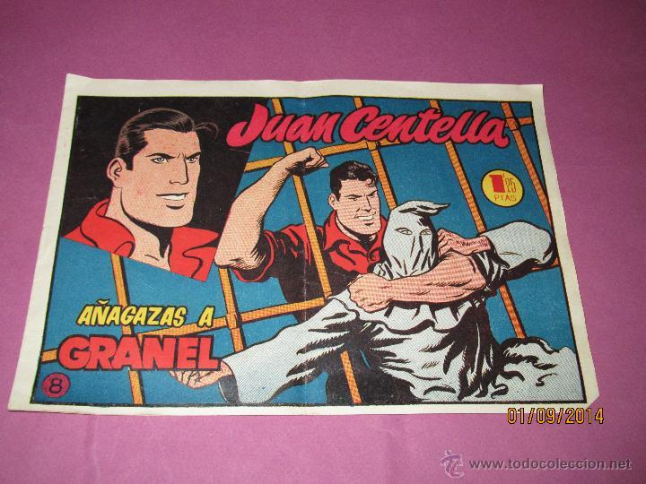 ANTIGUO JUAN CENTELLA Nº 8 DE HISPANO AMERICANA EN MUY BUEN ESTADO (Tebeos y Comics - Hispano Americana - Juan Centella)