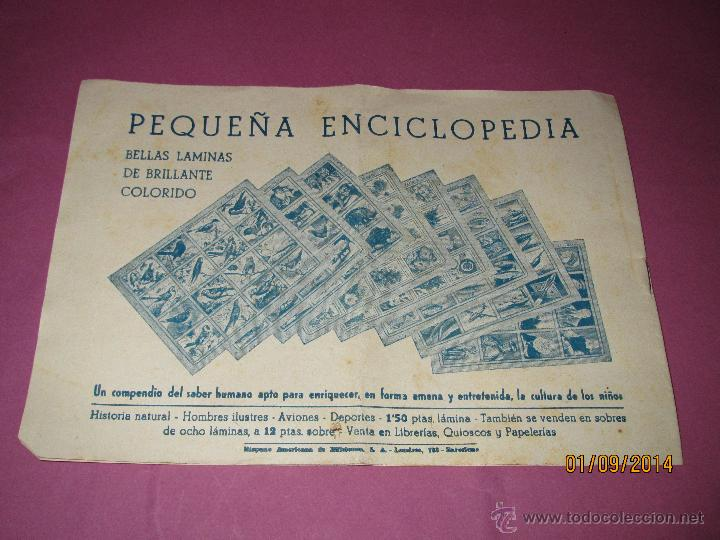 Tebeos: Antiguo JUAN CENTELLA Nº 8 de HISPANO AMERICANA en Muy Buen Estado - Foto 2 - 45051458