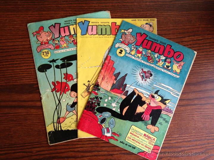 VARIOS LOTE DE 3 YUMBO (Tebeos y Comics - Hispano Americana - Yumbo)