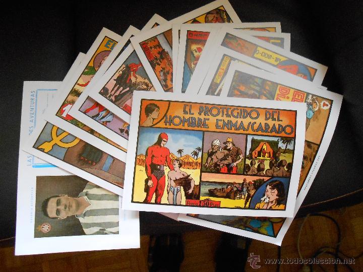 LOTE 15 TEBEOS/CÓMIC EL HOMBRE ENMASCARADO NUEVOS HISPANO AMERICANA 1944 REEDICIÓN (Tebeos y Comics - Hispano Americana - Hombre Enmascarado)