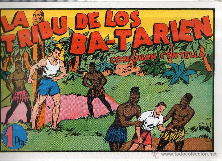 TEBEO. JUAN CENTELLA. LA TRIBU DE LOS BA-TARIEN. Nº 6 (Tebeos y Comics - Hispano Americana - Juan Centella)
