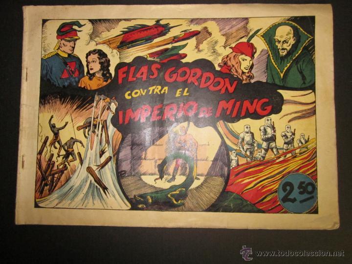 FLASH GORDON - ORIGINAL - CONTRA EL IMPERIO DE MING - 2,50 PESETAS - (COM -200) (Tebeos y Comics - Hispano Americana - Flash Gordon)