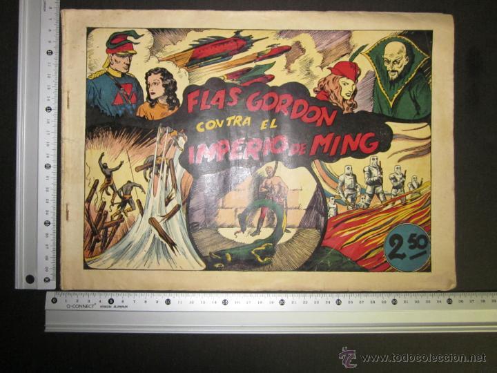 Tebeos: FLASH GORDON - ORIGINAL - CONTRA EL IMPERIO DE MING - 2,50 PESETAS - (COM -200) - Foto 5 - 45967303