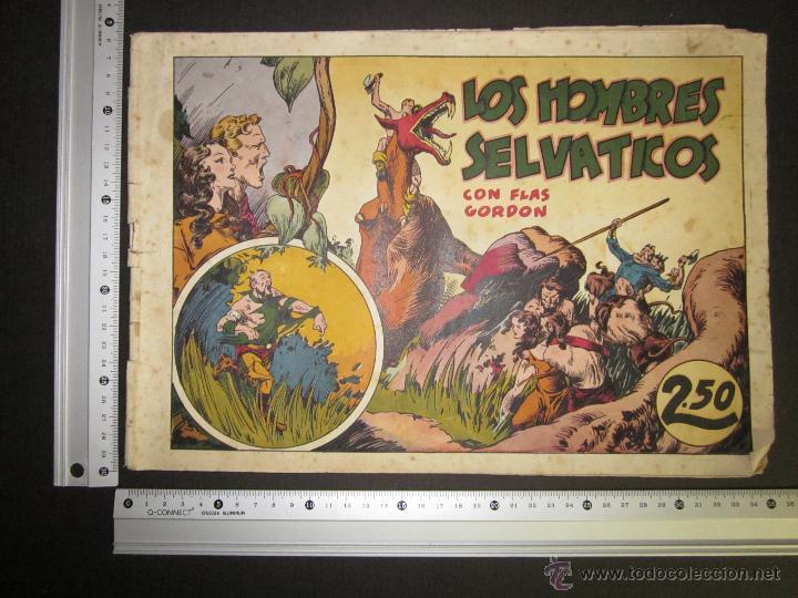 Tebeos: FLASH GORDON - ORIGINAL - LOS HOMBRES SELVATICOS - 2,50 PESETAS - (COM -201) - Foto 4 - 45967330