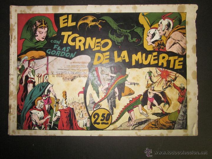 FLASH GORDON - ORIGINAL - EL TORNEO DE LA MUERTE - 2,50 PESETAS - (COM -202) (Tebeos y Comics - Hispano Americana - Flash Gordon)