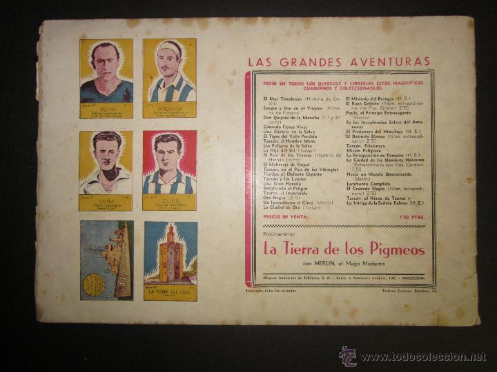Tebeos: FLASH GORDON - ORIGINAL - EL TORNEO DE LA MUERTE - 2,50 PESETAS - (COM -202) - Foto 2 - 45967358