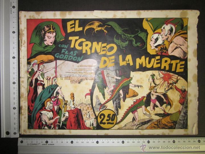Tebeos: FLASH GORDON - ORIGINAL - EL TORNEO DE LA MUERTE - 2,50 PESETAS - (COM -202) - Foto 3 - 45967358