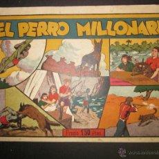 Tebeos: HISPANO AMERICANA - EL PERRO MILLONARIO - 1,50 PESETAS - (COM-228). Lote 45981976