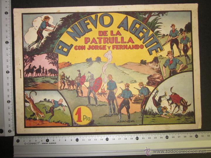 Tebeos: JORGE Y FERNANDO - EL NUEVO AGENTE DE LA PATRULLA - 1 PESETA - (COM-230) - Foto 4 - 45982091