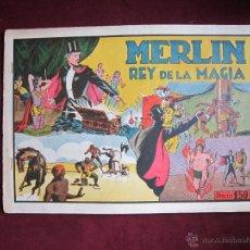 Tebeos: MERLIN EL REY DE LA MAGIA Nº 5. HISPANO AMERICANA. ORIGINAL 1942. LEE FALK & DAVIS. MUY BUENO. Lote 46007710