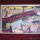 Tebeos: EL MAGO DEL DEPORTE CON MERLIN EL REY DE LA MAGIA Nº 8. HISPANO AMERICANA. ORIGINAL 1942. . Lote 46007761