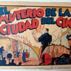 Tebeos: JUAN CENTELLA , EL MISTERIO DE LA CIUDAD DEL CINE , HISPANO AMERICANA , ORIGINAL. Lote 46058843