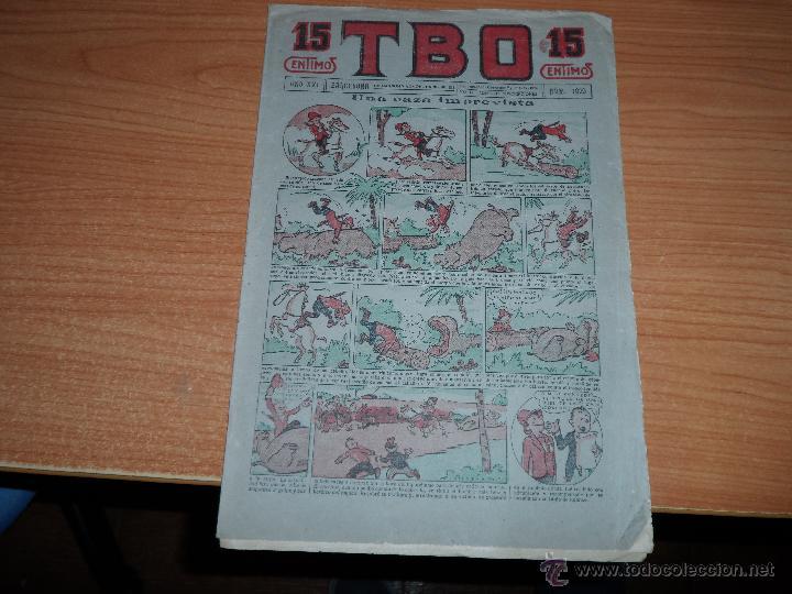 TBO Nº 1029 ORIGINAL EDITORIAL BUIGAS 1936 (Tebeos y Comics - Hispano Americana - Yumbo)