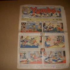 Tebeos: YUMBO Nº 22, 10 CTS, EDITORIAL HISPANO AMERICANA. Lote 46370058