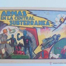 Tebeos: ARMAS EN LA CENTRAL SUBTERRANEA - HISPANO AMERICANA - 21 X 32 - JLV. Lote 46424329