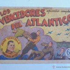 Livros de Banda Desenhada: JUAN CENTELLA - LOS VENCEDORES DEL ATLÁNTICO - HISPANO AMERICANA - JLV. Lote 46428825