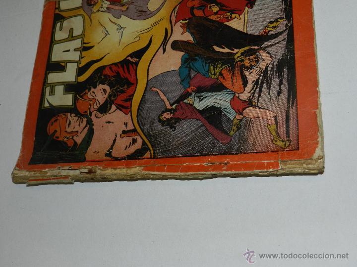 Tebeos: (M-1) FLASH GORDON , COMPLETA !!!!! 3 VOLUMENES , EDT HISPANO AMERICANA 1944 , ALBUM ROJO - Foto 3 - 46544102