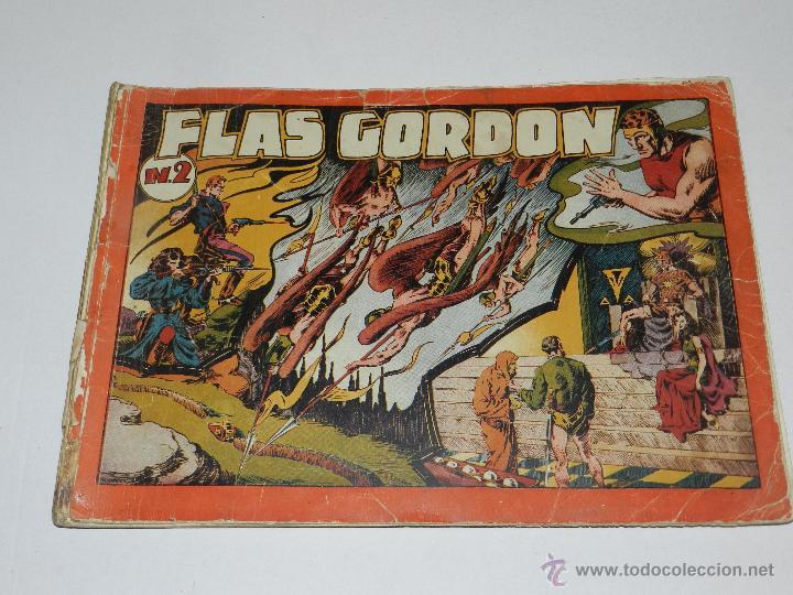 Tebeos: (M-1) FLASH GORDON , COMPLETA !!!!! 3 VOLUMENES , EDT HISPANO AMERICANA 1944 , ALBUM ROJO - Foto 5 - 46544102