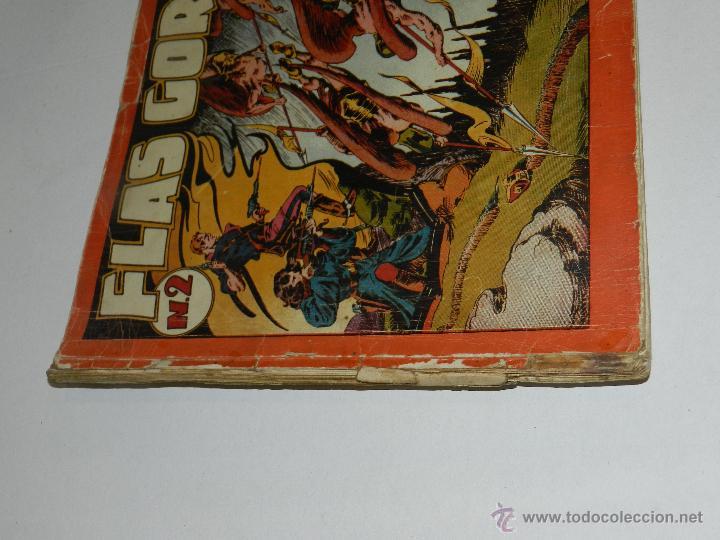 Tebeos: (M-1) FLASH GORDON , COMPLETA !!!!! 3 VOLUMENES , EDT HISPANO AMERICANA 1944 , ALBUM ROJO - Foto 6 - 46544102