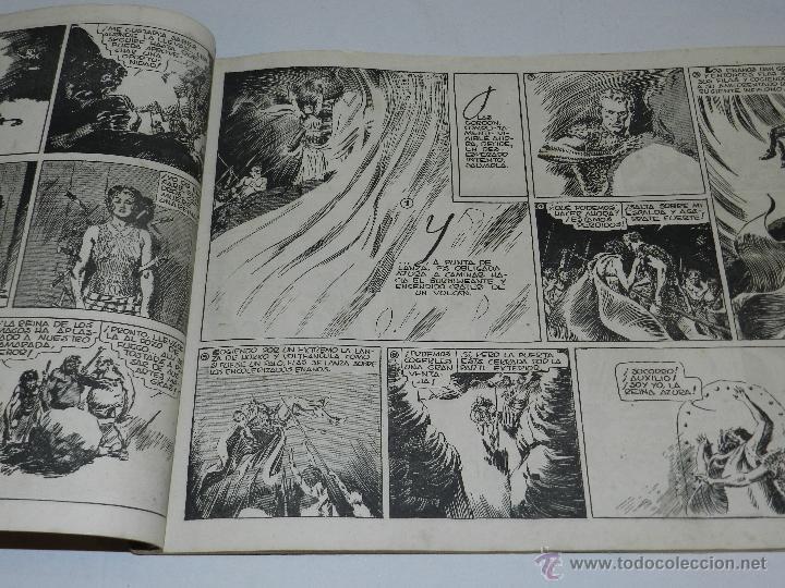 Tebeos: (M-1) FLASH GORDON , COMPLETA !!!!! 3 VOLUMENES , EDT HISPANO AMERICANA 1944 , ALBUM ROJO - Foto 7 - 46544102